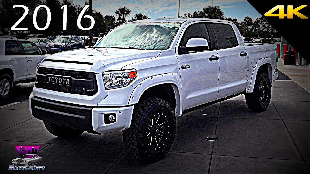 2016 toyota tundra platinum upgradedsparks performance #2 - 4k