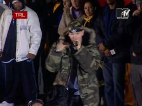 Eminem - Like Toy Soldiers (Live @ TRL, Berlin, 2004)
