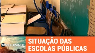 Ensino Estadual: novo ano letivo, problemas antigos - SBT Rio Grande - 15/02/19