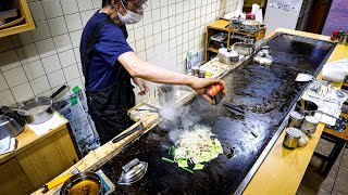 Teppanyaki & noodles In Japan: Amazing Curry Soba! | The Famous Birthplace Of The Modern-yaki