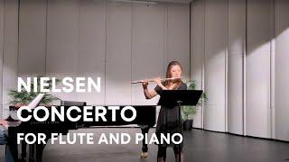 Carl Nielsen - Flute Concerto mvt 1 | Jennifer Jo