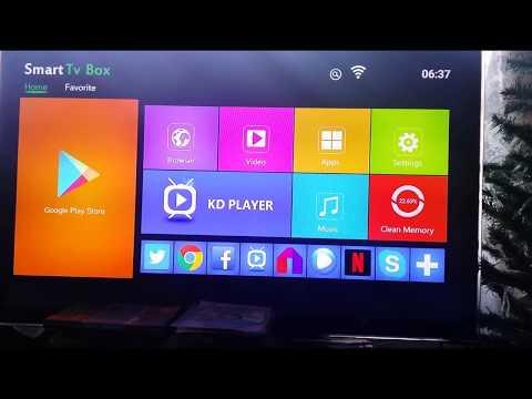 Android Smart Tv X96 на S905W четырехъядерный медиаплеер.
