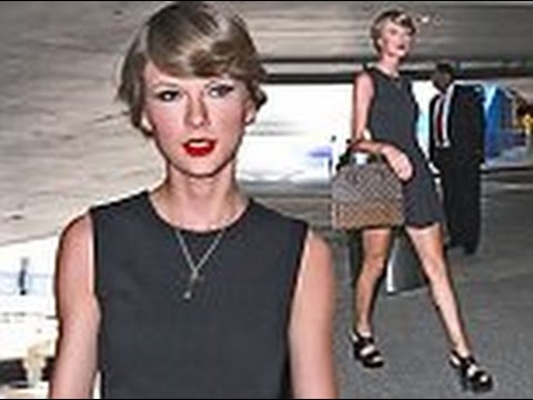 Taylor Swift turned heads as she arrived at LAX airport on Saturday