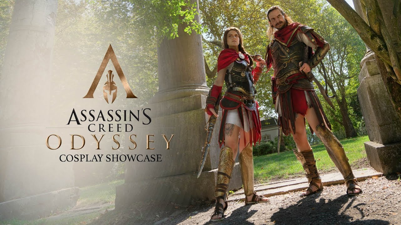 Assassin S Creed Odyssey Cosplay Showcase Youtube