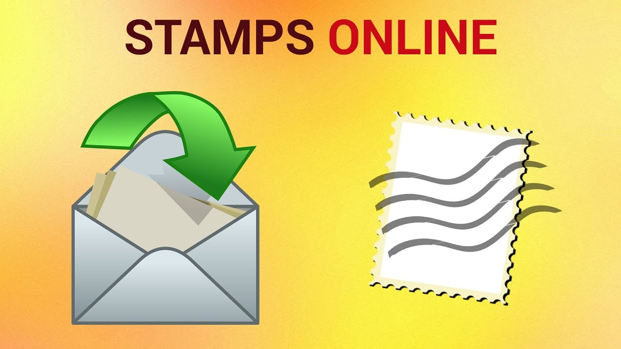 How to Design Your Own Postage Stamps Online - YouTube
