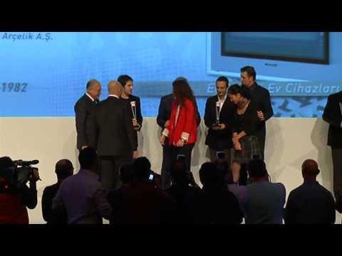 Design Turkey 2012 Ödüllerinin Verilişi Parça 1/2