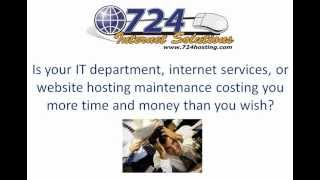 Best Small Business Web Hosting Services Provider - 724 Hosting Delivers! Cloud, Dedicated Servers,