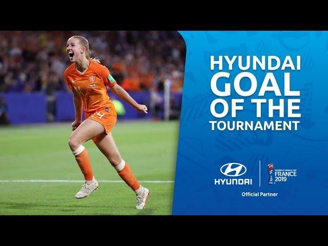 Jackie GROENEN – HYUNDAI GOAL OF THE TOURNAMENT – NOMINEE