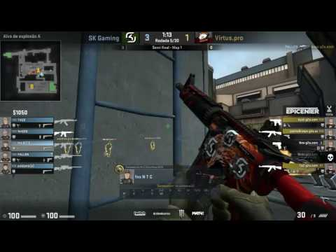 EPICENTER: Moscow (Semi Final) - SK Gaming  vs. Virtus Pro (Mapa 1 - Train )