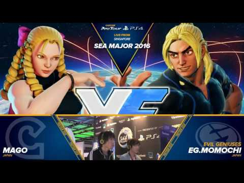 Street Fighter 5 South East Asia Major 2016 Top 32 to 16 HD720p 60FPS