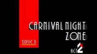 Sonic 3 Music: Carnival Night Zone Act 2