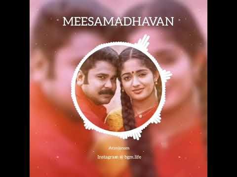 MEESAMADHAVAN || ARANJANAM SCENE BGM || Cute Dubsmash & Ringtone