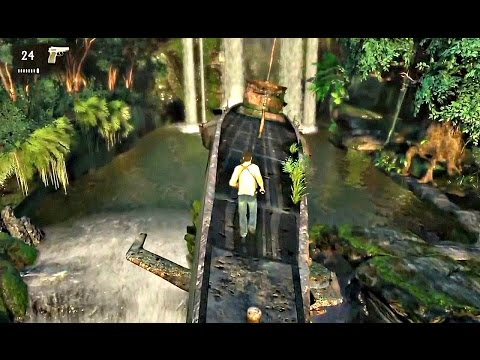 PS4 Uncharted Drake's Fortune Action Game play PlayStation 4 Number 3