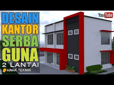desain kantor minimalis 2 lantai   anak teknik - youtube