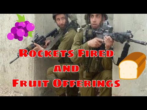 BREAKING: Rockets Fired on Tel Aviv, Fruit Offerings Ascend on Temple Mount