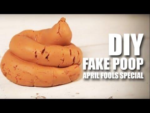 How to make DIY Fake Poop | April Fools Day Special