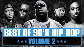 90s Hip Hop Mix #02 | best Of Old School Rap Song