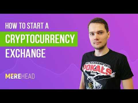 How to start a cryptocurrency excange