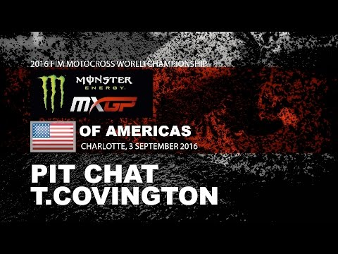 Pit Chat with Thomas Covington Monster Energy MXGP of Americas 2016
