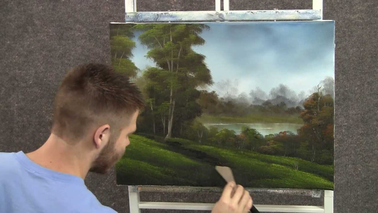 Paint With Kevin Hill Lakeside Path Youtube