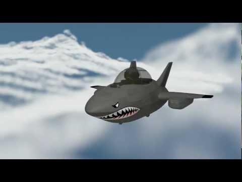 Minimate MAX Stealth Jet - Shark Nose Art