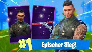 WIN WITH NEW EPIC SKIN! *SEASON 4* (Fortnite Battle Royale English)