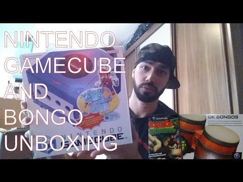 Gamecube Mario Sunshine Bundle And DK Bongos Unboxing