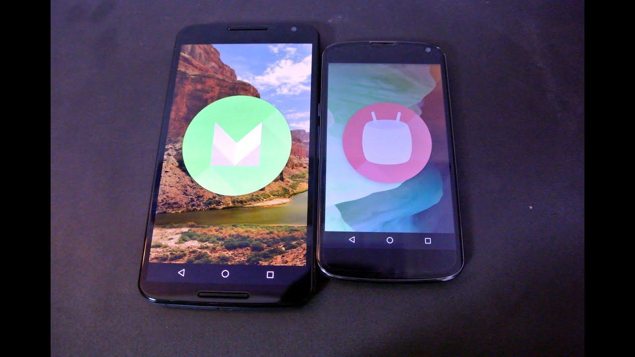 Андроид 6 для нексус 4