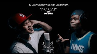 "30 Deep Grimeyy x NWM Cee Murdaa - ""No Cap"" (Live Performance) | BLVCK DETOX"
