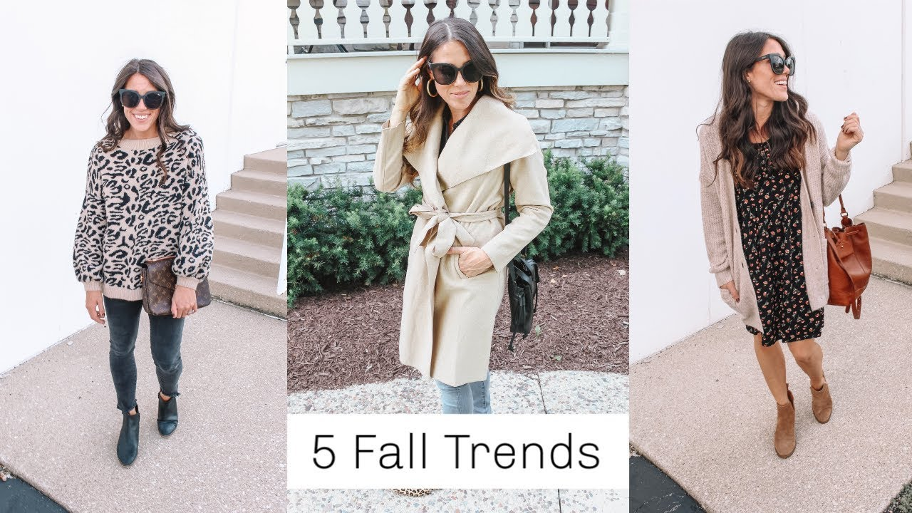 [VIDEO] – 5 Fall Trends To Actually Wear! 2019