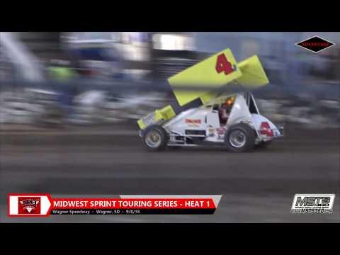 305/360 Sprint Car Heats - Wagner Speedway - 9/8/18