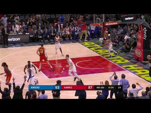 4th Quarter, One Box Video: Atlanta Hawks vs. New York Knicks