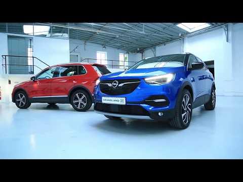 Opel Grandland X vs Volkswagen Tiguan premier duel des SUV familiaux