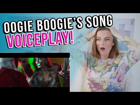 Vocal Coach Reacts To OOGIE BOOGIE'S SONG -VoicePlay A Cappella Cover