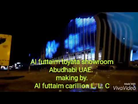 New Al Futtaim Toyata Showroom in Abudhabi UAE.