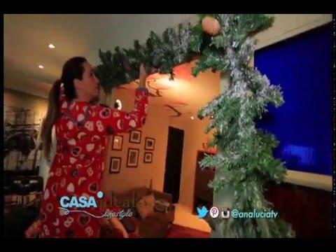 Guirnalda de navidad para puertas navidad 2015 casa for Guirnaldas para puertas navidenas