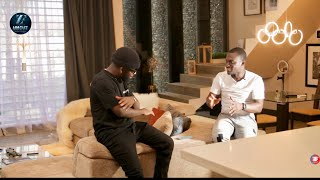 No, My New House Doesn't Cost 5 Million Dollars - Bisa Kdei And Zionfelix Tour His Beautiful House