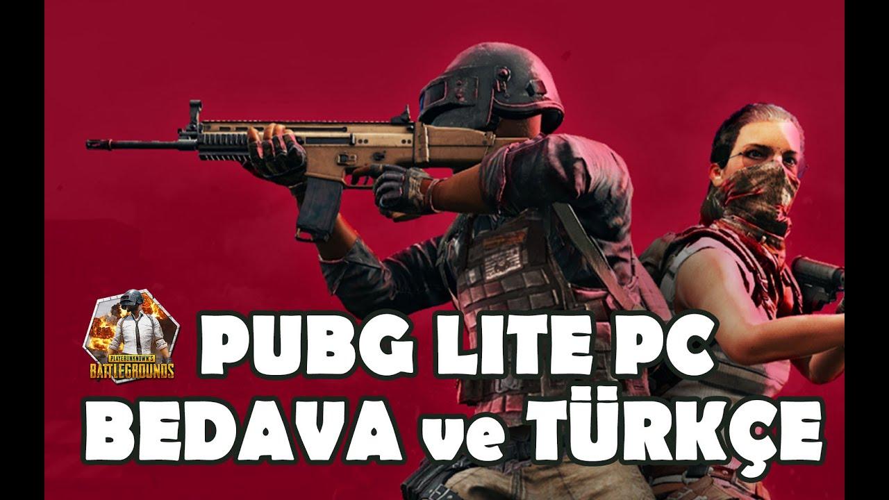 PUBG LITE Türkiye Çıktı Bedava - Türkiye Serveri - İlk Bakış -