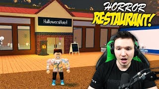 CREEPY HORROR RESTAURANT BUILD !! | Roblox