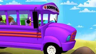 Колеса на автобусе Стихи для детей Анимационные ролики Детские стишки Образование