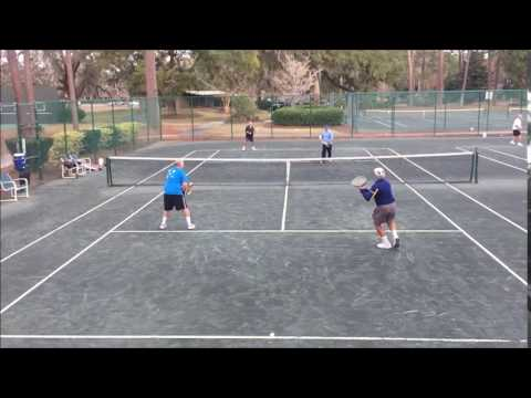 serve and volley