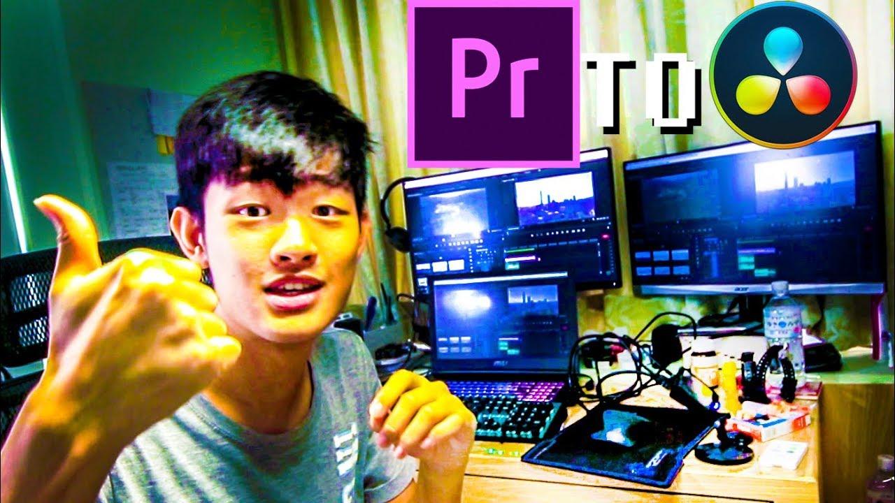 升級PR調色工具Premiere Pro到免費軟體Davinci Resolve調光 - YouTube