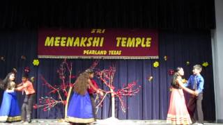 Houston Kannada vrinda Yugadi 2015 Dance performance