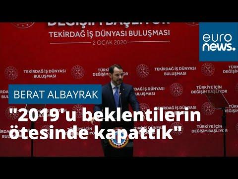 Bakan Albayrak: 2019'u beklentilerin ötesinde bir performansla kapattık