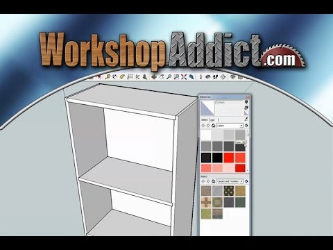 Learn how to use sketchup --- tutorial #1 - YouTube