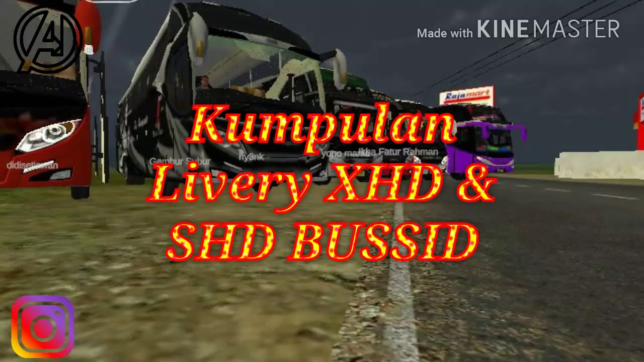 Kumpulan Livery XHD & SHD BUSSID || Link Livery Ada Di Deskripsi #1