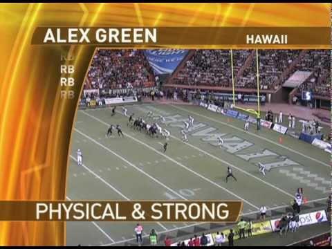 Alex Green - The Draft's Top Big RB