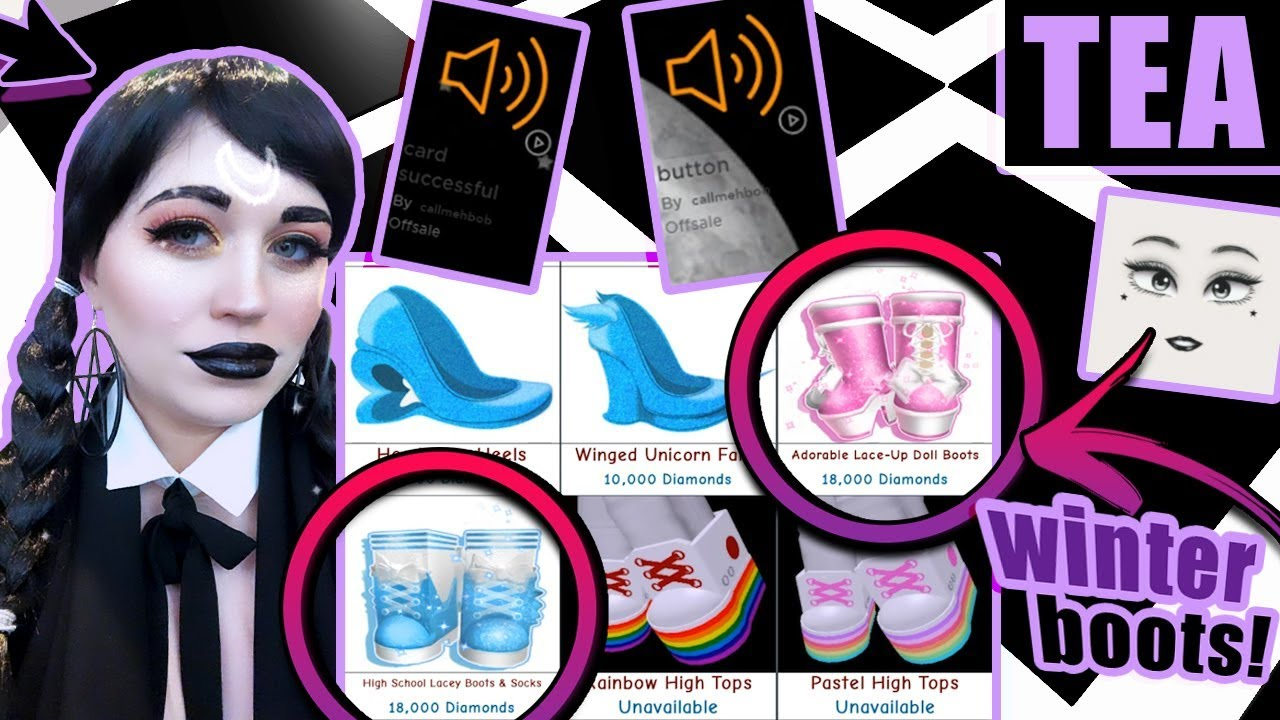 Winter Boots Are Back New City Realm Leaks Royale High News Updates Cybernova - roblox royale high winter boots how to get free robux on