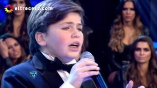 Terrible voz, el chico que cantó lírico y acapela