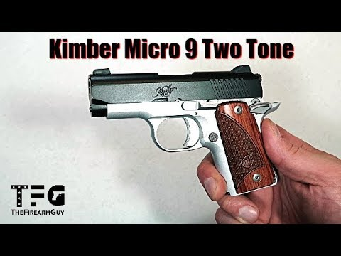 Kimber Micro 9 Two Tone Review - TheFireArmGuy